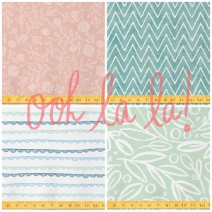 I'm melting with love for these fabric samples on Minted.