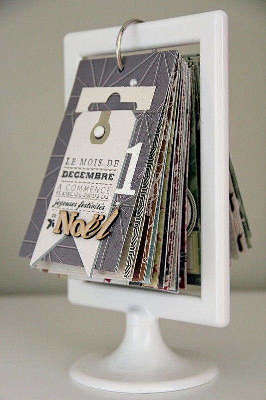Calendar Display Ideas : Five ways to countdown christmas the neat nook
