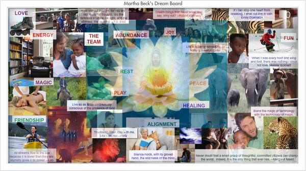 sample vision board