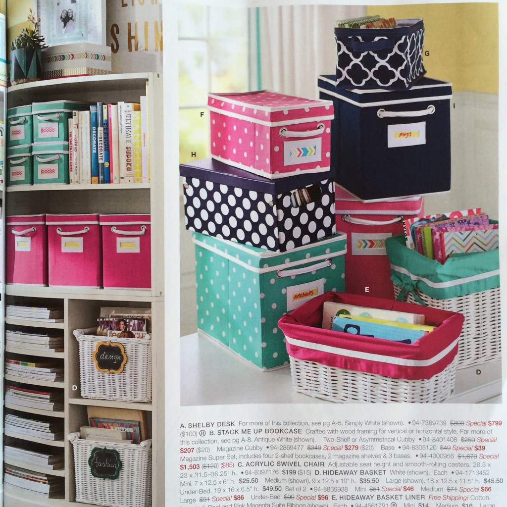 Pottery Barn Bins