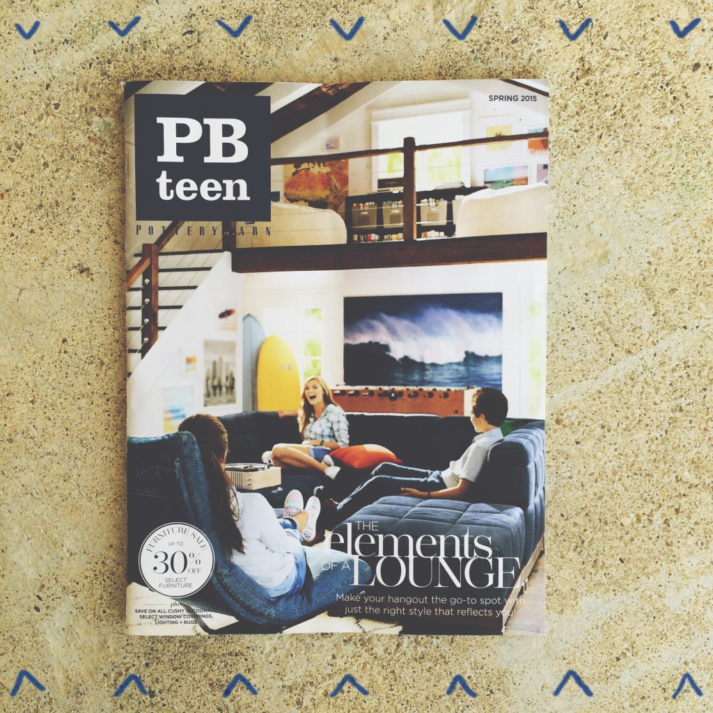 Pottery Barn Teen, February