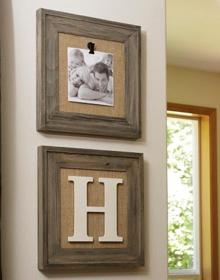 bulletin picture frames