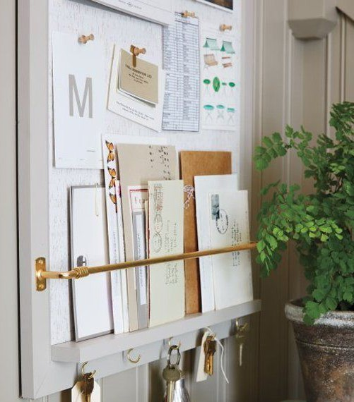 mail organizer board