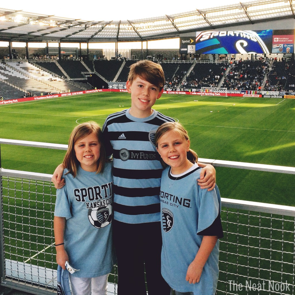 Sporting KC Soccer Game