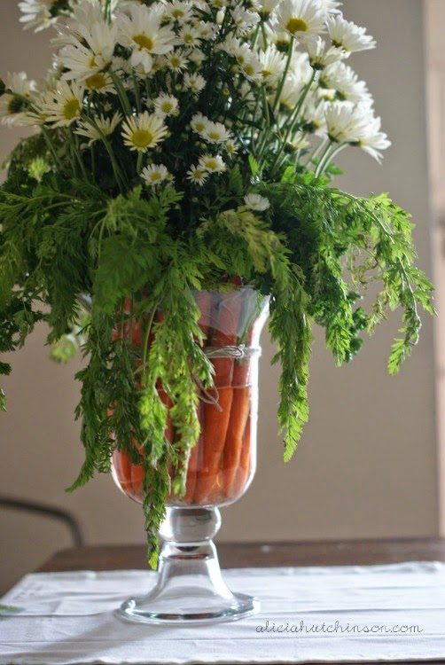 Easy easter flower arrangements the neat nook