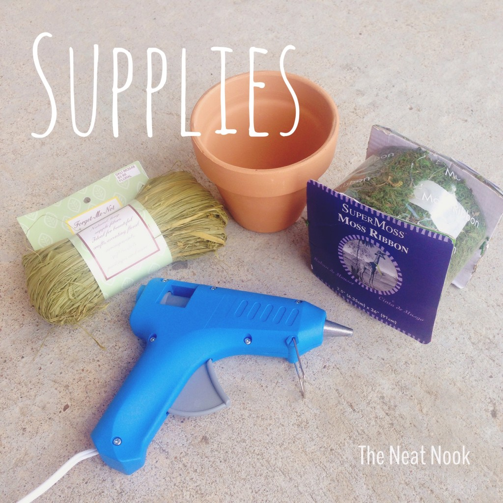 Moss planter supplies