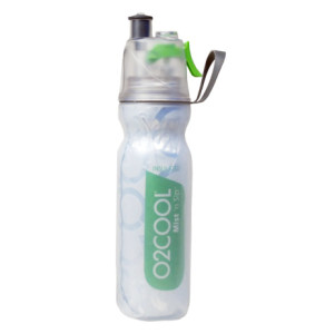 Water bottles, like this one with a sprayer (for the kids and you. No one needs you passing out on the sidelines from dehydration.)