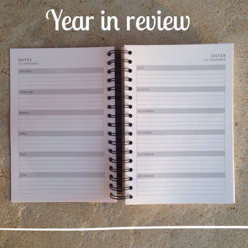 2016 Planner year in review