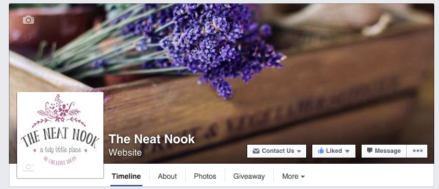 The Neat Nook Facebook page