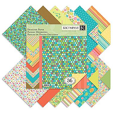 doublesided scrapbook paper