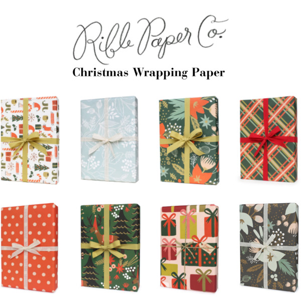 rifle paper gift wrap
