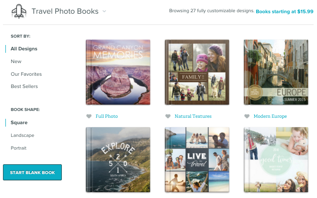 online photo book