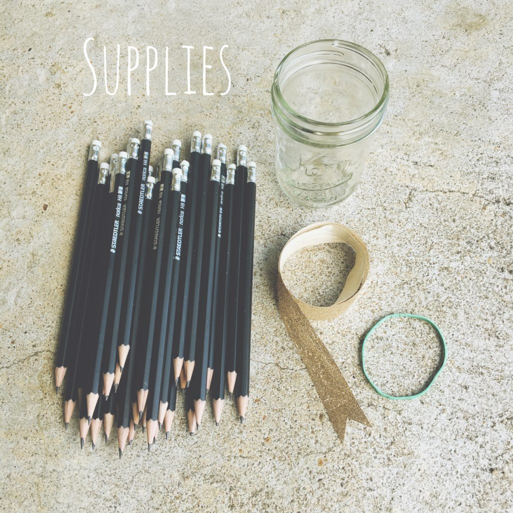 supplies for vase