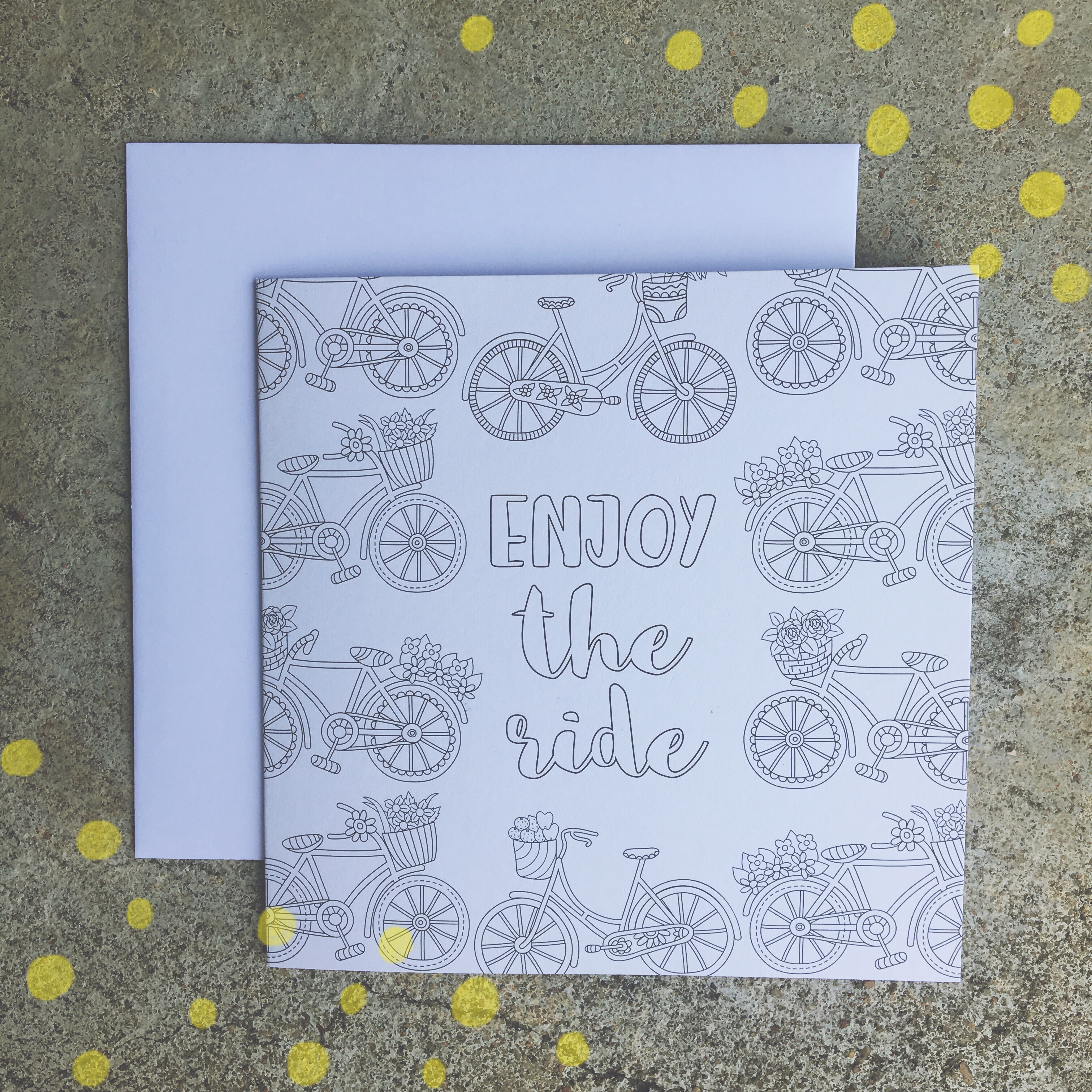 I Recently Spotted These Playful Postcards You Could Color Tear Out And Send Right Of The Book