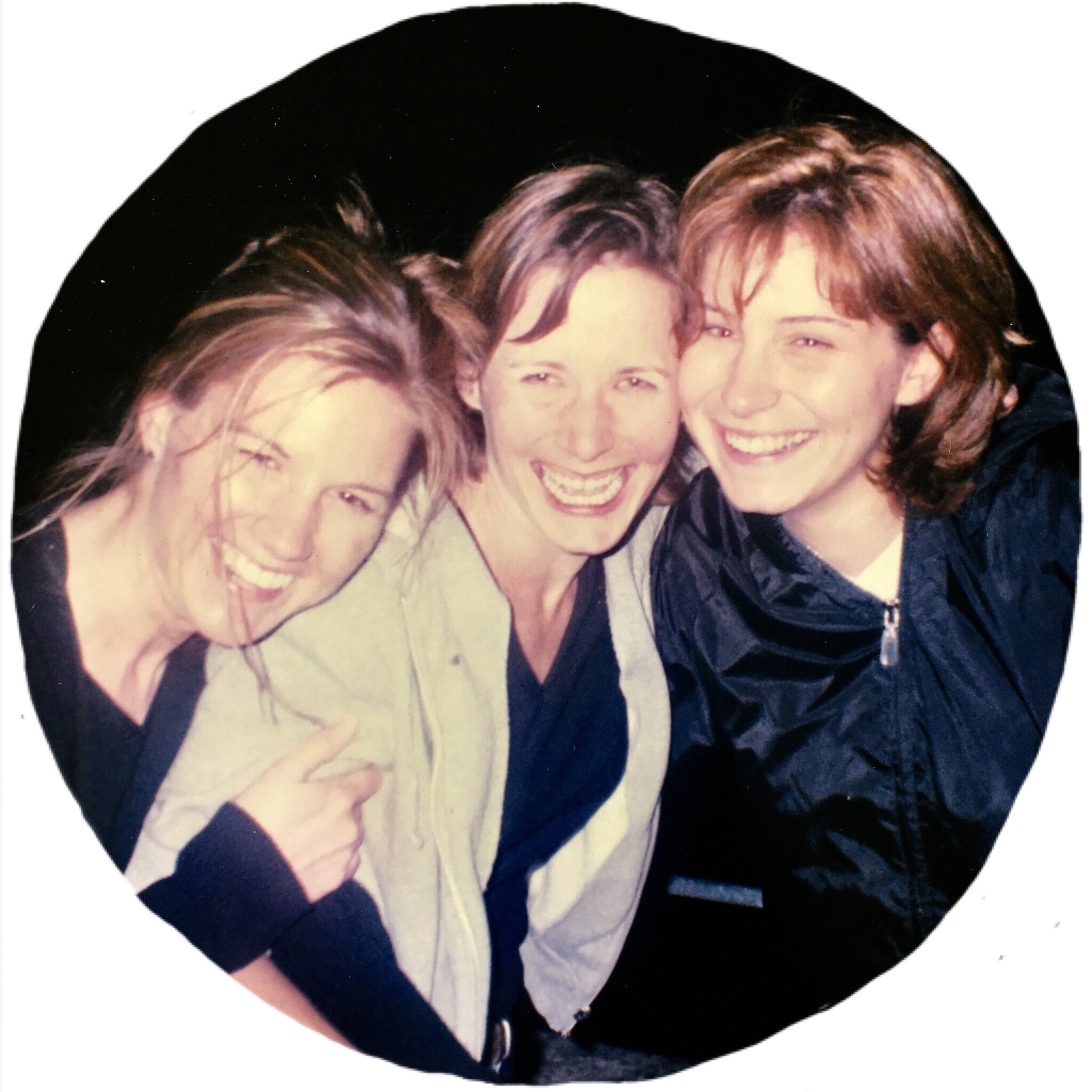 A blast from the past with friends